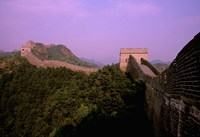 Morning View of The Great Wall of China, Beijing, China Fine Art Print