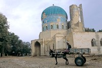 Masjid Sabz, the Green  Mosque in Balkh, Afghanistan by Kenneth Garrett - various sizes