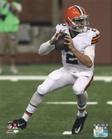 Johnny Manziel 2014 with the ball Fine Art Print