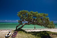 Mauritius, Le Morne Peninsula, Beach, Surfing by Walter Bibikow - various sizes, FulcrumGallery.com brand