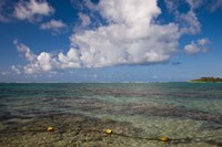 Mauritius, Southern Mauritius, Blue Bay, oceanfront by Walter Bibikow - various sizes, FulcrumGallery.com brand