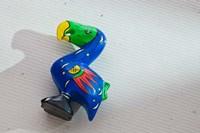 Blue wooden Dodo bird toy, Mauritius by Walter Bibikow - various sizes