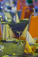 Mauritius, Tamarin, Tamarin Hotel, dining room by Walter Bibikow - various sizes