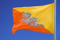 National Flag, Bhutan by Keren Su - various sizes