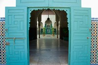 Morocco, Islamic law courts, tile walls, door by Cindy Miller Hopkins - various sizes