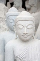 Myanmar, Mandalay, Stone carver, marble Buddhas by Cindy Miller Hopkins - various sizes