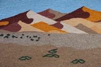 Namibia, Swakopmund. Karakulia, wool textiles Fine Art Print