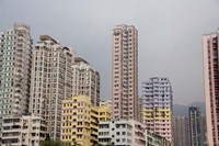 New Territories high-rise apartments, Hong Kong, China by Cindy Miller Hopkins - various sizes
