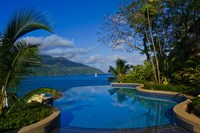 Pool at Northolme Resort, Seychelles, Africa by Alison Wright - various sizes