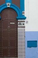 MOROCCO, Rabat: Kasbah des Oudaias, Doorway Detail by Walter Bibikow - various sizes