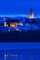 MOROCCO, Rabat: Kasbah des Oudaias, Oued Bou Regreg by Walter Bibikow - various sizes
