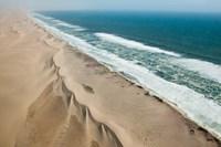 Namibia, Skeleton Coast, Coastline Fine Art Print