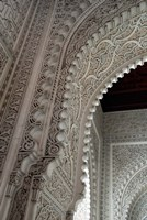 Wall tiles and carvings on Islamic law courts, Morocco by Cindy Miller Hopkins - various sizes