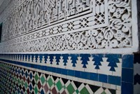 Close up of design on Islamic law courts, Morocco by Cindy Miller Hopkins - various sizes