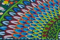 Green Mosaic, Library, Mediterranean, Alexandria, Egypt Fine Art Print