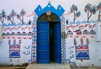 Nubian Village Restaurant Across the Nile from Luxor, Egypt Fine Art Print