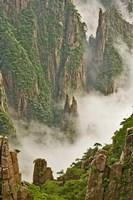 Mt. Huang Shan, China Fine Art Print