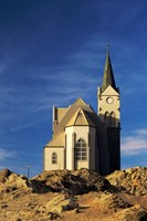 Namibia, Luderitz, Evangelical Lutheran Church by Charles Crust - various sizes