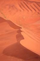Namibia, Sossusvlei. Namib-Naukluft Desert Fine Art Print