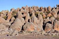 Rafu Lava Flow rock formations, Sanetti Plateau, Bale Mountains, Ethiopia by Martin Zwick - various sizes