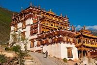 Sangpi Luobuling Si Monastery, Sichuan, China Fine Art Print
