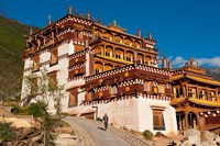 Sangpi Luobuling Si Monastery, Sichuan, China Fine Art Print