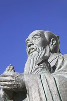 Sculpture of Confucius, Tibet, China by Keren Su - various sizes