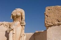 Headless Statue, Sabratha Roman Site, Tripolitania, Libya Fine Art Print