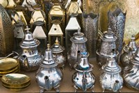 Souk, Market Marrakech, Morocco by Nico Tondini - various sizes