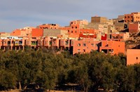 Small village settlements in the foothills of the Atlas Mountains, Morocco by Kymri Wilt - various sizes