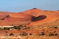 Sand dune at Sossusvlei, Namib-Naukluft National Park, Namibia by David Wall - various sizes, FulcrumGallery.com brand