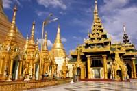 Shwedagon Pagoda, Yangon, Myanmar by Inger Hogstrom - various sizes, FulcrumGallery.com brand