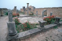Ruins of Ancient Roman Mansion called House of Columns, Morocco by John & Lisa Merrill - various sizes, FulcrumGallery.com brand