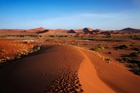 Sand dune, near Sossusvlei, Namib-Naukluft NP, Namibia, Africa. Fine Art Print