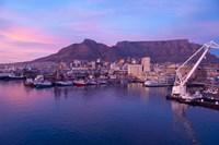 South Africa, Cape Town, Victoria & Alfred Port Fine Art Print