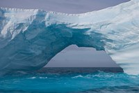 South Georgia Island, Iris Bay. Ice bridge, arch by Jaynes Gallery - various sizes, FulcrumGallery.com brand
