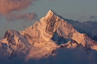 South Georgia Island. Mountain peak at dawn by Jaynes Gallery - various sizes, FulcrumGallery.com brand