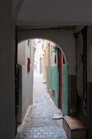 Street in the Kasbah, Tangier, Morocco by Nico Tondini - various sizes