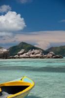 Town of La Passe Harbor, Island of La Digue, Seychelles by Cindy Miller Hopkins - various sizes