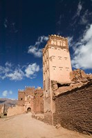 Telouet Village, Ruins of the Glaoui Kasbah, South of the High Atlas, Morocco by Walter Bibikow - various sizes - $40.99