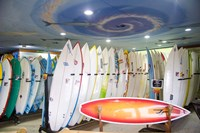 Surf shop, Jeffrey's Bay, South Africa Fine Art Print