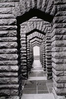 Stone arches and walls, Voortrekker Monument Pretoria, South Africa by Walter Bibikow - various sizes