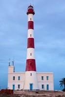 Taguermes Lighthouse at dawn, Sidi Mahres Beach, Jerba Island, Tunisia by Walter Bibikow - various sizes