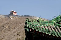 The Great Wall of China at Juyongguan, Beijing, China Fine Art Print