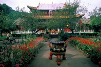 Temple Beauty of Bamboo Village, Kunming, China by Bill Bachmann - various sizes - $42.49