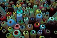 Spools of Yarn, China Fine Art Print