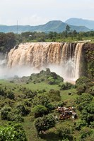 Tis Isat, waterfall, Blue Nile, Ethiopia by Martin Zwick - various sizes, FulcrumGallery.com brand