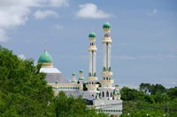 Water Village Mosque, Bandar Seri Begawan, Darussalam, Brunei, Borneo by Cindy Miller Hopkins - various sizes, FulcrumGallery.com brand