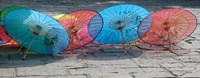Umbrellas For Sale on the Streets, Shandong Province, Jinan, China by Bruce Behnke - various sizes