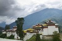 Trongsa Dzong in the Mountain, Bhutan by Keren Su - various sizes - $40.49